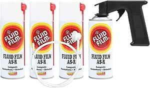 Fluid Film As R 4x Spray Can 400 Ml Plus Spray Master Auto