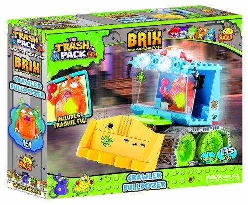 Cobi Trash The Pack Bulldozer ToysLlc Building Crawler Kit By tQhorCdxsB