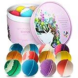 STNTUS badbommen cadeauset (12 x 86 g), luxe cadeau voor vrouwen, vriendin, moeder, perfecte Valentijnsgroet, verjaardag, Ker