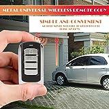 Swiftswan 1 Stück Knopf Fernbedienung 868 MHz für Garagentor mit Batterie und Kette