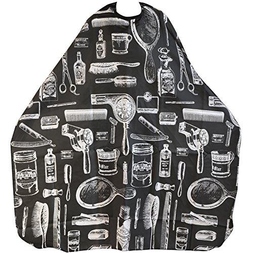 trixes-cape-blouse-noire-dadultes-avec-motifs-pour-salon-de-coiffure-barbiers-parfaite-pour-coupe-co