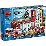 LEGO City 60004 - Feuerwehr-Hauptquartier Vergleich
