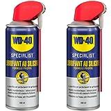 WD-40 Specialist • Lubrifiant Au Silicone • Spray Double Position • Formule Propre • Isolation contre l'humidité • Comptatibl