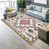 BAGEHUA Nordic Geometrische Teppich Minimalistischen Wohnzimmer Couchtisch Schlafzimmer Nacht Rechteckige Fußmatte Matte Anpassung,160×230cm,9