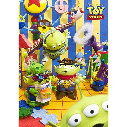 Disney Pixar Toy Story Aliens Park Affiche 3d Disney Carte Danniversairecartes Postales 3d