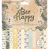 "Dovecraft Bee Happy Premium Collection - 8""x8"" Paper Pad (FSC)"