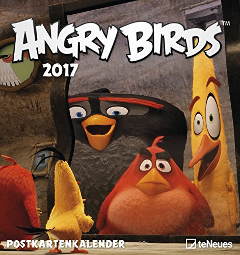 Angry Birds 2017 Postkartenkalender