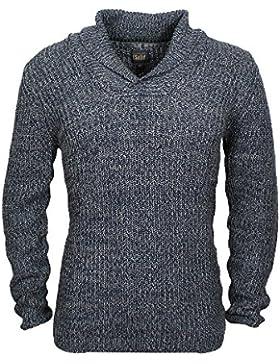 Solid Darrell sweater Mood Indigo , Herren:S