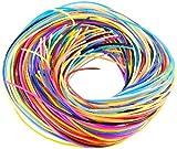 Playtastic Bänder: Scoubidou Bastelset mit 96 Knüpfbändern in 10 Farben (Bastelset mit Scoubidou-Band)