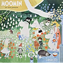 Moomin by Tove Jansson Wall Calendar 2019 (Art Calendar) (Square)