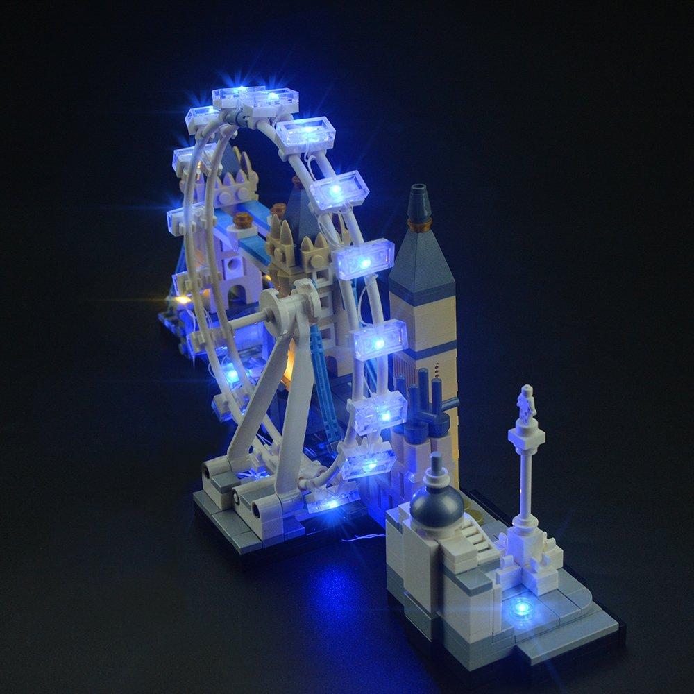 Lightailing Set Di Luci Per Architecture Londra Modello Da Costruire Kit Luce Led Compatibile Con Lego 21034 Non Spesavip