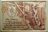 BERUFE MAURER BLECHSCHILD NEU STABIL S2967