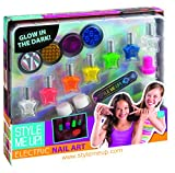 Style me up! 01639 - Kosmetikkoffer - Electric Nail Art Kit, Nageldesignerset