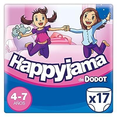 Dodot Happyjama Pañales niña, 4 a 7 años, 17 uds