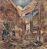 Berkin Arts Rudolf Von Alt Giclée Leinwand Prints Gemälde