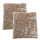 Dairyshop 2 Piccoli palline colorate in schiuma di perfetto per Slime festa di nozze decorazione del mestiere dell'arte di DIY immagine