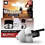 Alpine MotoSafe Tour Motor oordoppen voor Touring - Voorkomt gehoorbeschadiging van windruis bij motorrijden - Verkeer nog st
