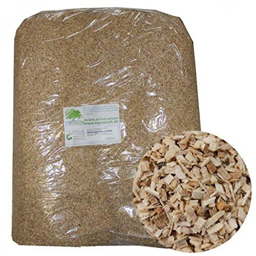 TR Räuchergut Räuchermehl für Fleisch - grob 20kg Räucherspäne Räucherholz Räuchern