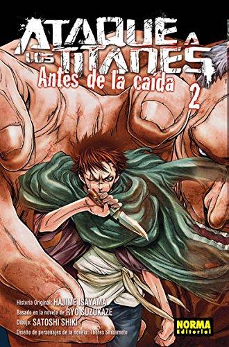 Ataque a los titanes antes de la caída 2 por Hajime Isayama