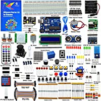 Adeept Ultimate Starter Kit for Arduino UNO R3, LCD1602, Servo