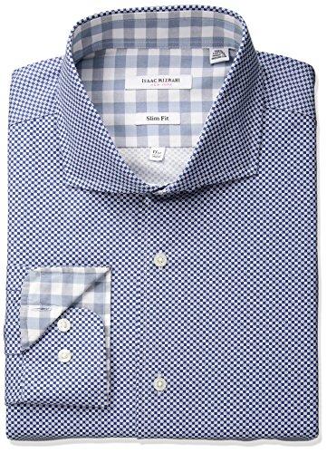 Isaac Mizrahi da uomo   camicia per completo Fashion Blue
