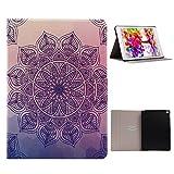 Folio Case pour Apple iPad 6 Cuir Etui, veille automatique Coque iPad Air 2 Tablet...