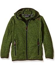 CMP – Chaqueta de forro polar, color Vert - Garden-Nero, tamaño 8 años