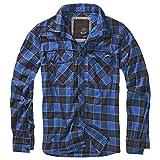 BRANDIT Check Shirt Schwarz/Blau XXL