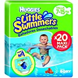 Huggies Little Swimmers, Talla 3+, 20 pañales
