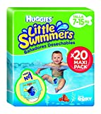Huggies 2900251 Little Swimmers 20 Couches Maxi Pack Taille 3/4 7-15 kg