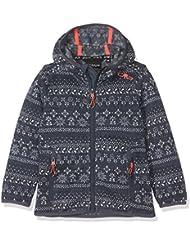 CMP lana 3h20375niña Chaqueta, Otoño-invierno, niña, color asfalto, tamaño 164