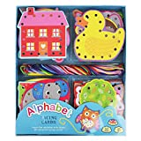 Barney & Buddy BA020 Alphabet Lacing Card Set