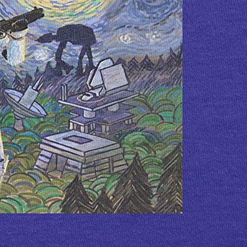 TEXLAB - Endor Nights - Herren T-Shirt Marine