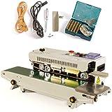 Wangkangyi Jasemy FR-770 Automatische verzegelingsmachine, plastic tas, continuous band, sealer, automatisch horizontaal plas