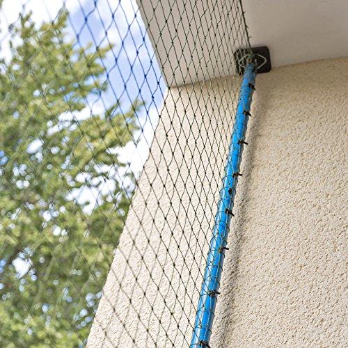 Allegra katzennetz f r balkon oder fenster Amazon freistehende markisen