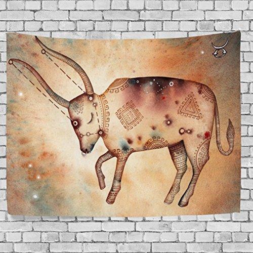 jstel-arazzo-da-parete-vintage-art-12-constellation-horoscope-taurus-wall-throw-dorm-decor-tapestry-