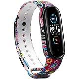Baaletc För Xiaomi Mi Band 5 rem/ersättningsband, utbytesarmband rem tillbehör för Xiaomi Mi Band 5 rem Smart Watch Armband (