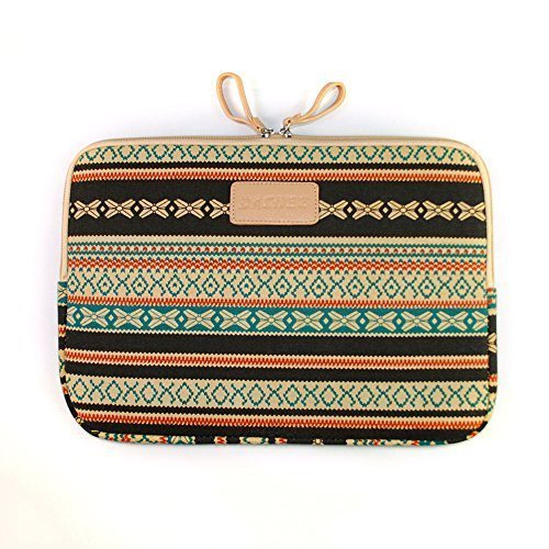 Personalized Bohemian Laptop Sleeve Case Bag For Macbook Pro iPad Samsung Galaxy Tab android tablets Windows Surface upto 9.7