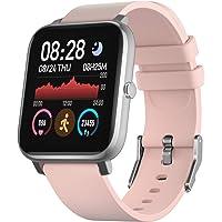 IDEALROYAL Smartwatch für Männer Frauen, Fitness Tracker mit Herzfrequenzmesser Schlafmonitor, Smartwatch Bluetooth…