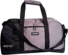 SPYKI 20 Inch Duffel Multipurpose Travel Bag Grey Color Bag