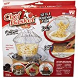 Baby Basket Basket 12 In 1 Kitchen Tool For Cook, Deep Fry, Boiling Solid Steel