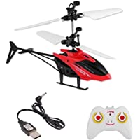 Exceed Induction Flight Radio RC Remote Control Chargeable Helicopter Toy for Kids   Boys (Assorted Color)