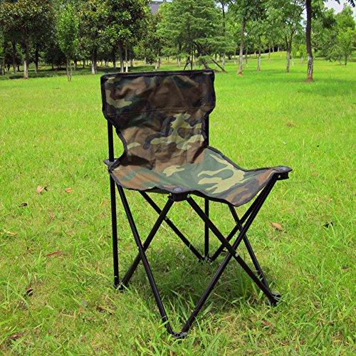 Pêche En Plein Air De Loisirs Chaise Pliante / Petit Banc / Double Chaise De Camouflage En Toile / Chaise Portable