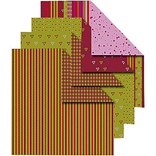 Vivi Gade Design 25527 Origami-Papier, mehrfarbig, 50 Stück