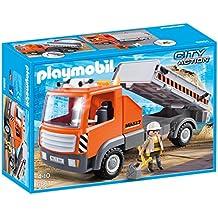 Playmobil Construcción - Camión contenedor (6861)