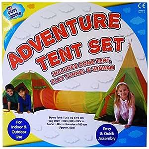 tentes de jeux tipi et dome avec tunnel pour enfants int rieur et ext rieur jeux. Black Bedroom Furniture Sets. Home Design Ideas