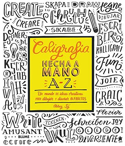 Caligrafía hecha a mano A-Z