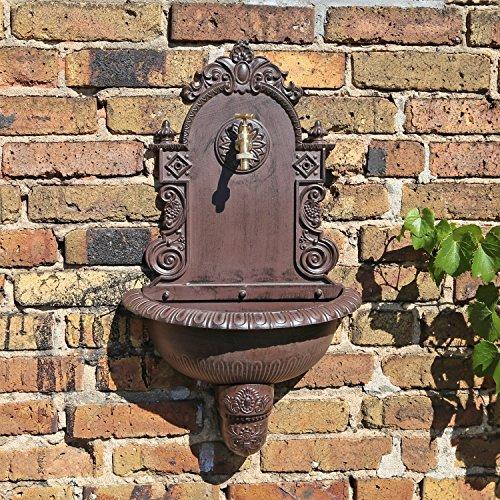 CLGarden WB1 Pared en el diseño nostálgico Jardín Fuente de Agua con lavabo