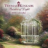 Official Thomas Kinkade Painter of Light 2018 Mini Wall Calendar