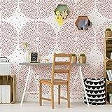 Kaleidoscope dekorative Wandschablone - Schablone fur wand - Schablone groß - Malerschablonen